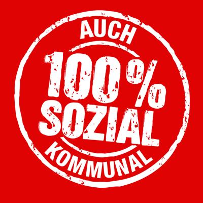 Auch Kommunal: 100% sozial (DIE LINKE)