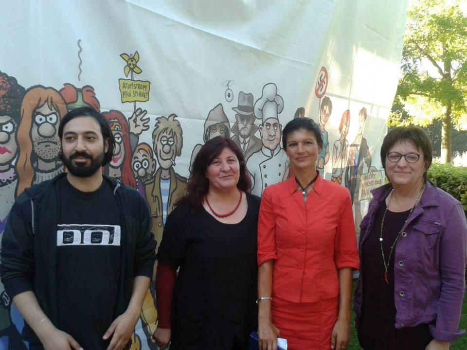 Marcel Mansouri, Ayse Fehimli, Sahra Wagenknecht