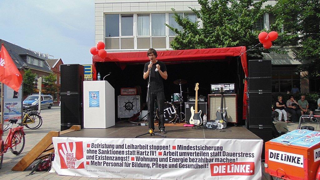 Sebastian Borkowski bei Sylt kapern (23. Juli 2016)