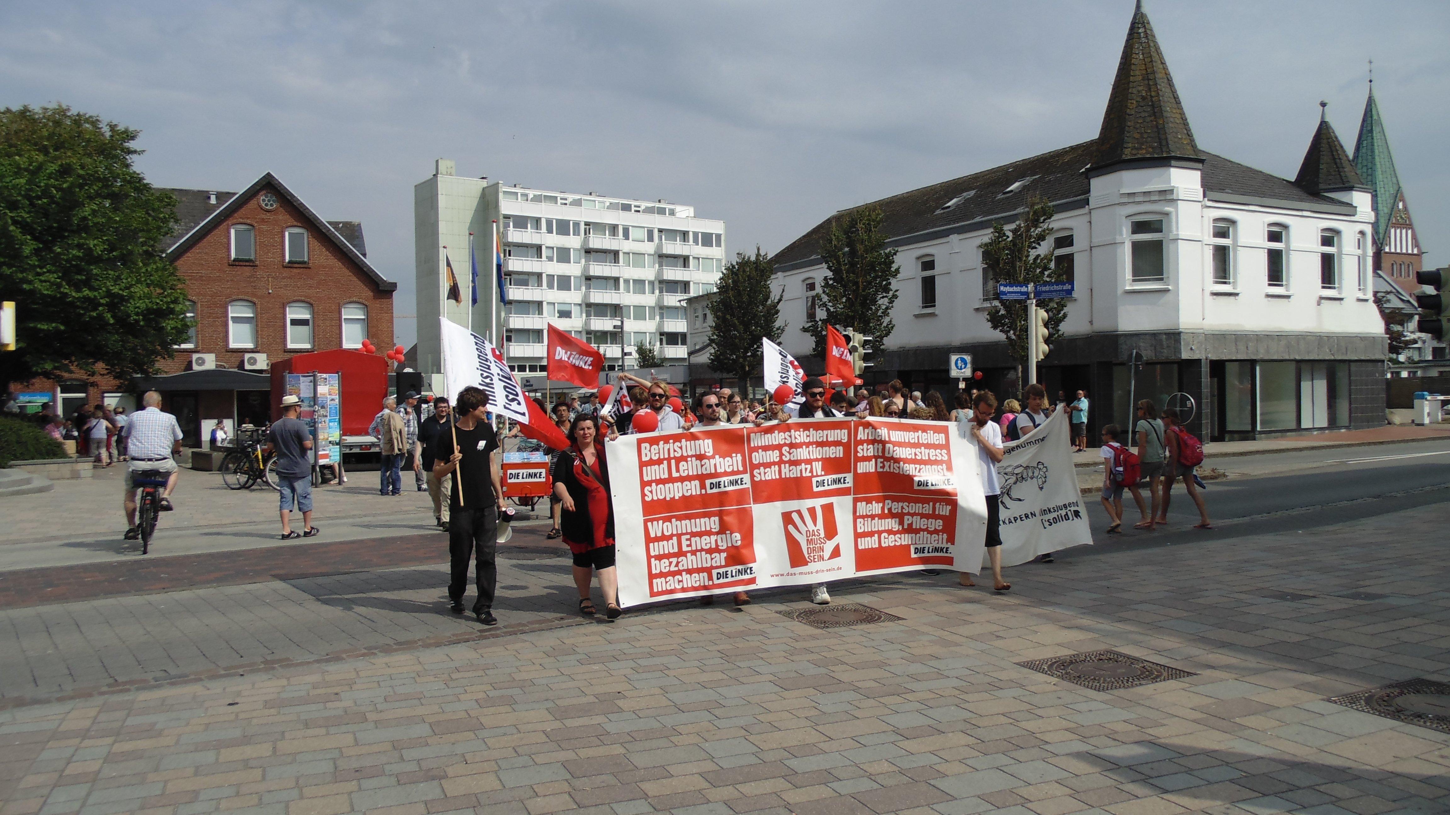 """Demonstration """"Sylt kapern"""" am 23. Juli 2016"""