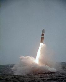 Start einer Atomrakete (Symbolfoto)