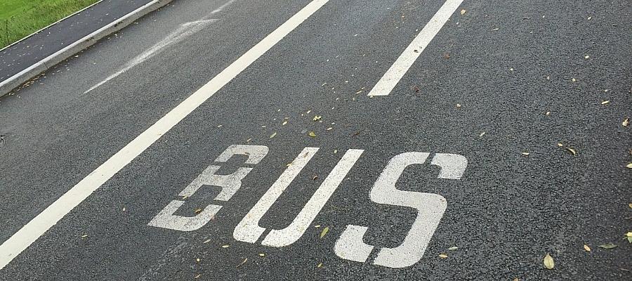 Bus-Spur (Symbolbild)
