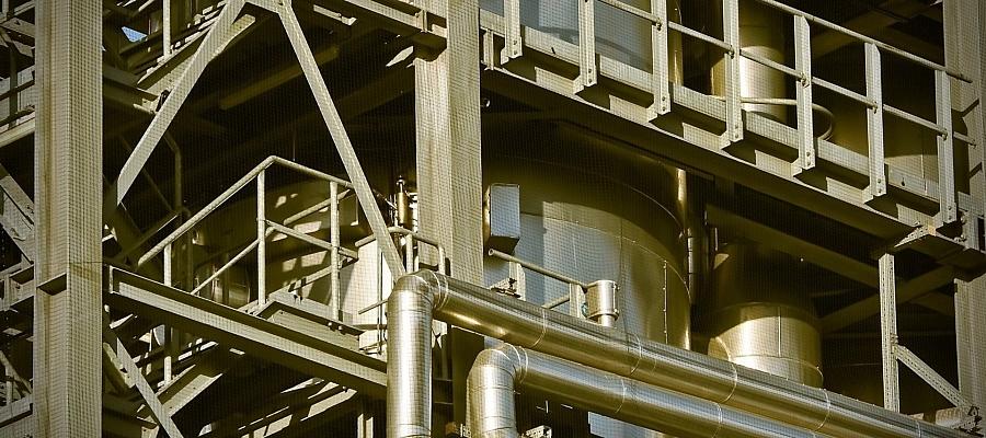 Industrieanlagen (Symbolbild)