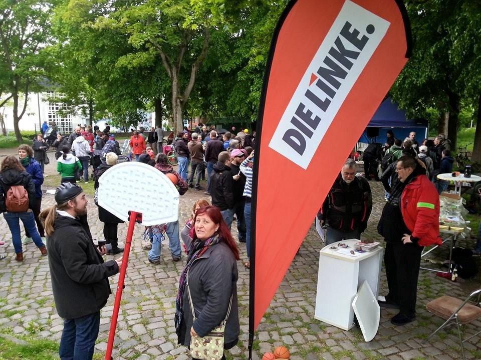 "Aktion ""Katzheide anbaden!"" am 31. Mai 2015"