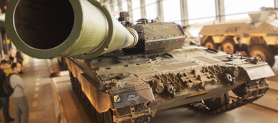 Foto eines Panzers.