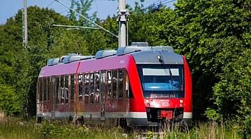 Regionalbahn nach Lübeck