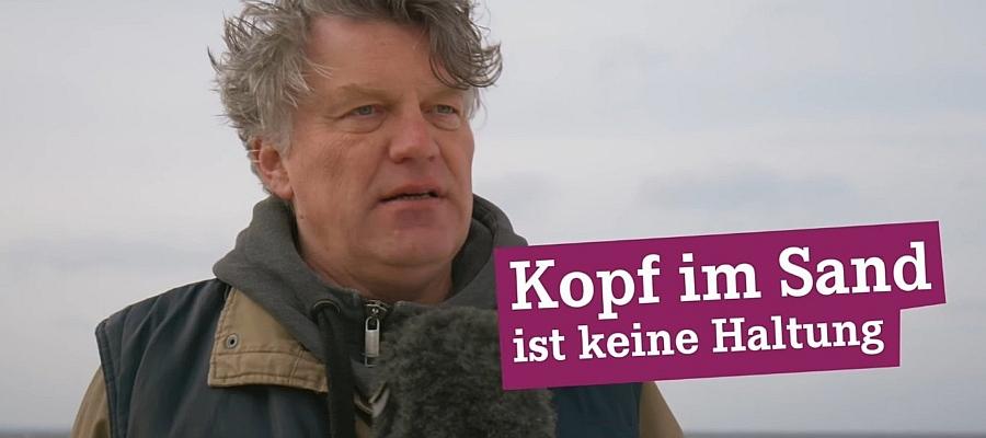 Kopf im Sand ist keine Haltung! DIE LINKE zur Landtagswahl 2017 in Schleswig-Holstein.