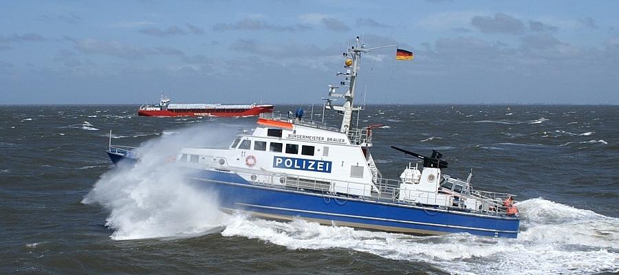 Boot der Wasserschutzpolizei